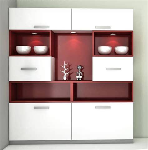 Home Interiors Kitchen - modern crockery cabinet designs