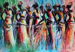Fashion Show Ghana Painting African Fine Art By Novica Oil