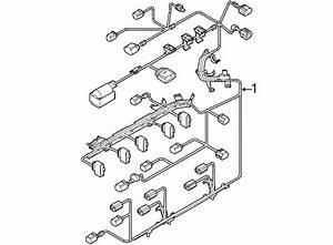 2013 Volkswagen Jetta Engine Wiring Harness  Liter  Wsulev