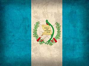Guatemala Flag Vintage Distressed Finish Mixed Media by