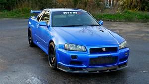1999 Nissan Skyline R34 GTR 6 Speed Manual - http://www.jm ...