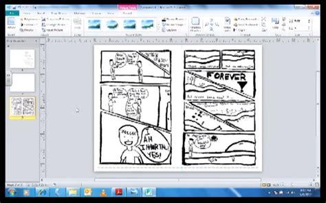 tutorial  microsoft publisher    mini comic