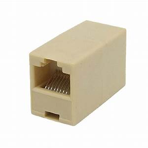 Rj45 Internet Network Inline Cable Coupler Connector