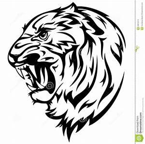 Tigres clipart tiger outline - Pencil and in color tigres ...