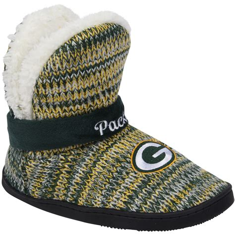 nfl green bay packers womens wordmark peak boots