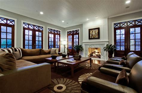House Plans With Large Family Rooms by How To Arrange Furniture In A Large Living Room