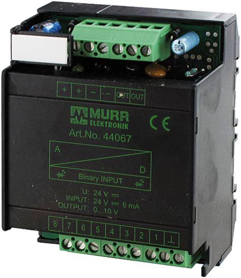 6 recessed lighting d a converter 10 bit output 0 10v at murrelektronik