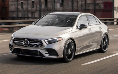 Mercedes A Class Wallpapers by 2019 Mercedes A Class Sedan Amg Styling Us