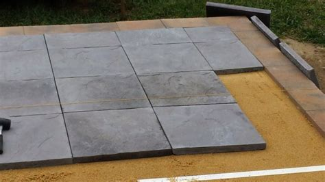 home depot patio pavers pavers home depot nantucket pavers in x in