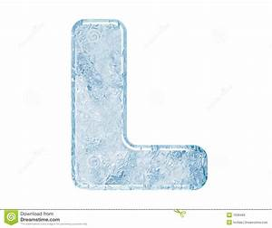 Ice Font Royalty Free Stock Images - Image: 7636499