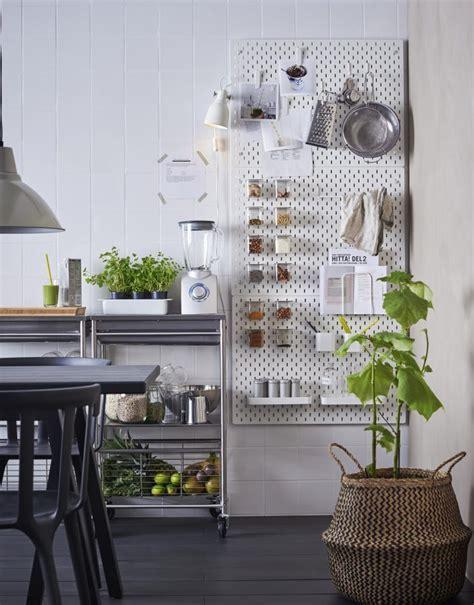 IKEA's new SKÅDIS pegboard is every neat freak's dream