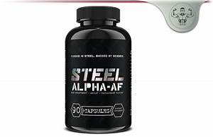 Steel Supplements Alpha Af  U2013 Post Cycle Therapy Testosterone Booster