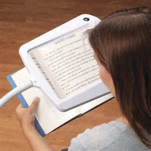 lighted full page magnifier l easy comforts