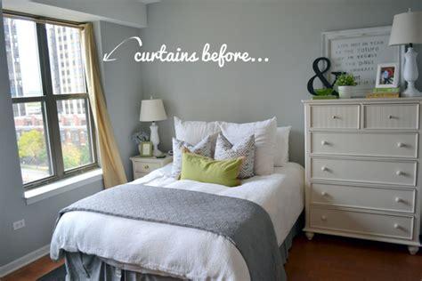 window treatments    bedroom space diy playbook