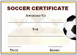 30 soccer award certificate templates free to download With soccer certificate templates for word
