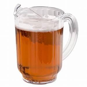 Carlisle 554007 60 oz. Clear Plastic VersaPour Beverage ...