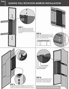 Sliding  U0026 Fixed Mirror Install - Installation Manual