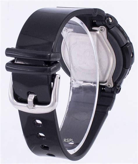 Casio Baby G Bga 130 Black casio baby g neon illuminator analog digital bga 130 1b