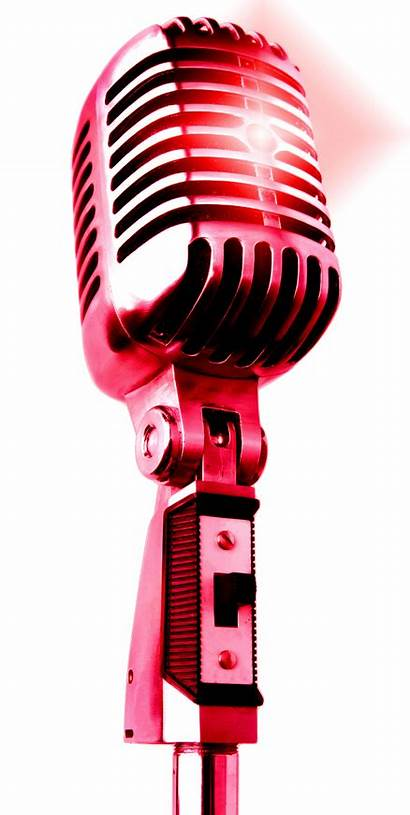 Microphone Transparent Mic Singing Clipart Drop Singer