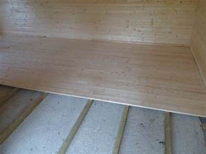 wooden floor pack for log cabins With parquet 27mm