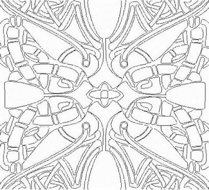 Coloring Cool Pages Printable Designs Geometric Prism