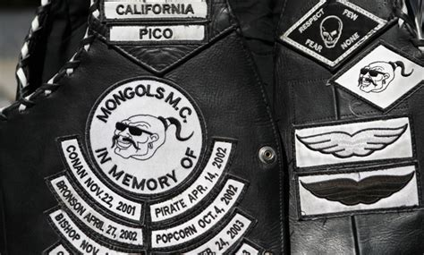 Feds Want To Bar Mongols Biker Gang From Using Its