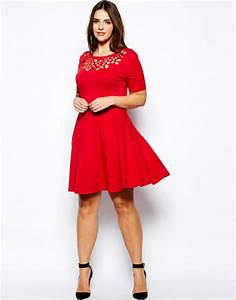 Red Cocktail plus Size Dress Ideas u2013 Designers Outfits Collection