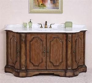68 inch single sink bathroom vanity in antique tan With 68 inch bathroom vanity