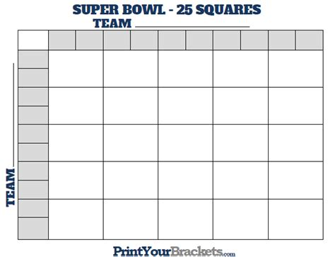 Free 2015 Super Bowl Grids  Autos Post