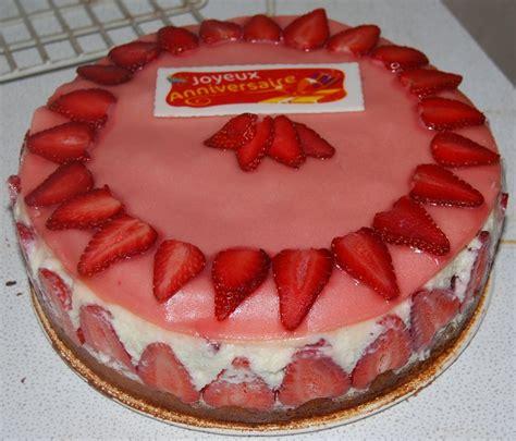 mon fraisier d anniversaire humm a vos fourchettes