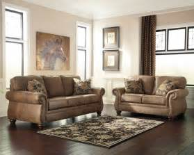 new 31901 larkinhurst earth color traditional sofa and loveseat set ebay