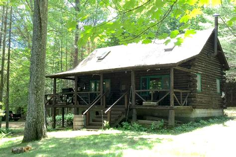 cabin rentals in ny lakefront log cabin rental in adirondack park