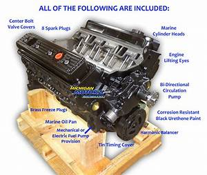 5 7l Mercruiser Marine Engine Replacement  1987-95
