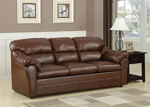 connell brown bonded leather match sofa sleeper With bonded leather sectional sleeper sofa