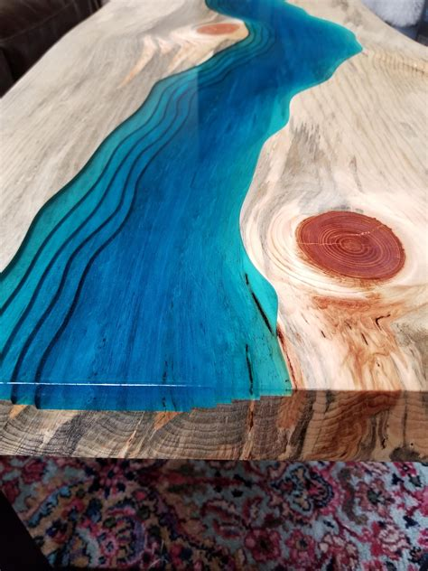 How to build an epoxy river table. SOLD Epoxy river coffee table coffee table live edge