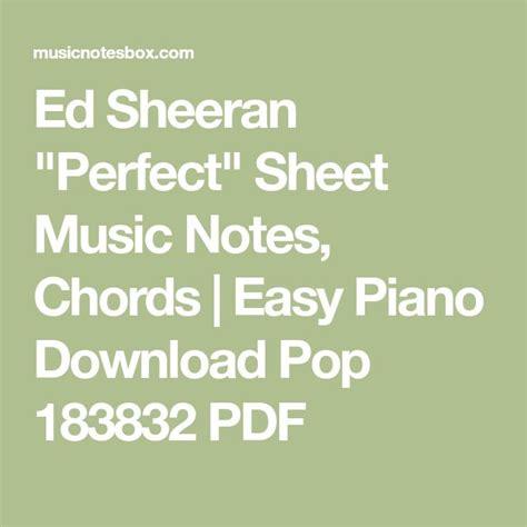 Ed Sheeran Perfect Chord…   Mungfali