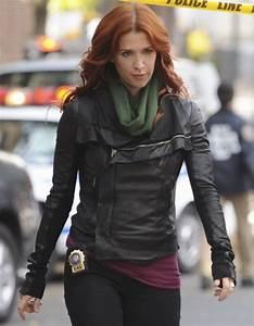 Unforgettable Carrie Wells Black Leather Jacket