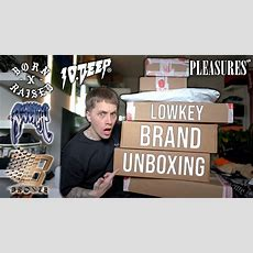 Unboxing My Favorite Lowkey Brands Youtube