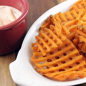 Alexia Waffle Cut Sweet Potato Fries | I Can Cook That