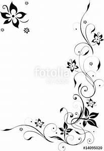 Umrandungen Vorlagen Kostenlos : laden sie den lizenzfreien vektor blumenranke bl ten filigran schn rkel von christine krahl ~ Orissabook.com Haus und Dekorationen
