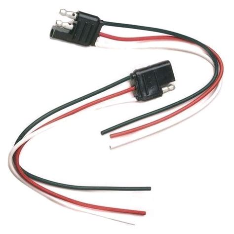 3 pin flat connector britax tc5082 connector sae 3 pin flat with wire auto