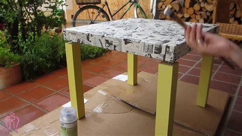 Tisch Neu Bekleben by Tisch Im Mangadesign Basteln