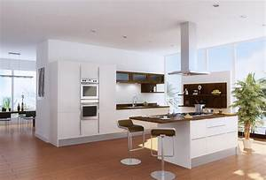 77 modern kitchen designs photo gallery designing idea With kitchen colors with white cabinets with creation en papier