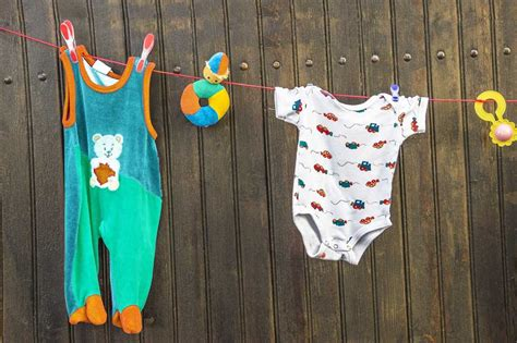 remove baby poop stains  clothes cleanipedia