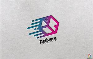 Delivery, Abstract, Logo, Template, U2013, Graphicsfamily