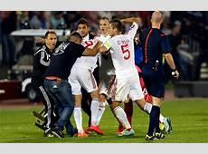 Cana rischia la squalifica per SerbiaAlbania L'Uefa apre