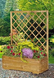 Blumenkasten Holz Mit Rankgitter : blumenkasten mit rankgitter 60x134x48 cm lagerhaus ~ A.2002-acura-tl-radio.info Haus und Dekorationen