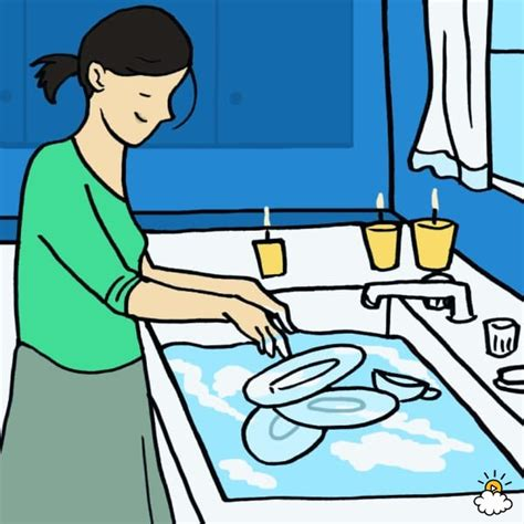 Washing Dishes Clipart Clipart Animated Washing Dishes Collection
