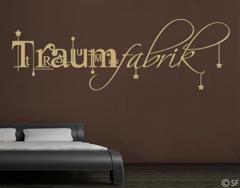 Wandtattoo Schlafzimmer Traumfabrik by Wandtattoo Traumfabrik