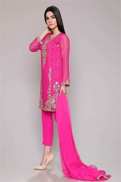 Suits Latest Wear Party Dresses Designs Embroidered